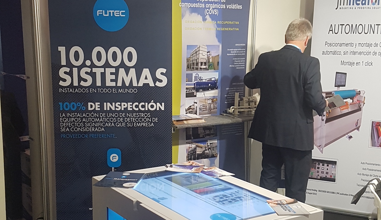 FUTEC, Hispac 2018, Barcelona Spain
